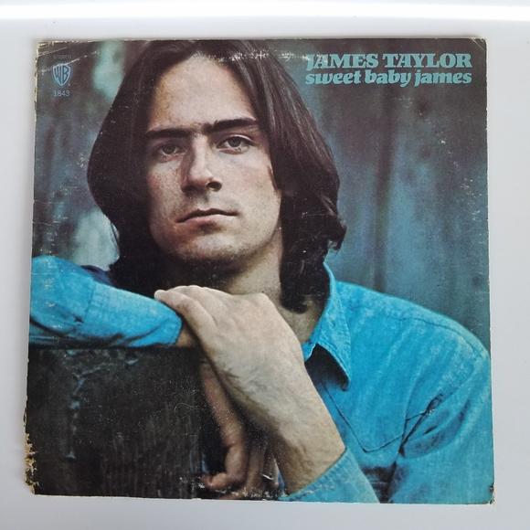 James Taylor Sweet Baby James Vinyl LP Warner Bros